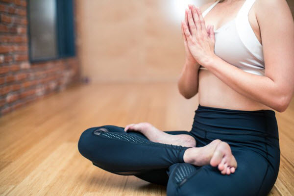 práctica intensiva de yoga y Mindfulness